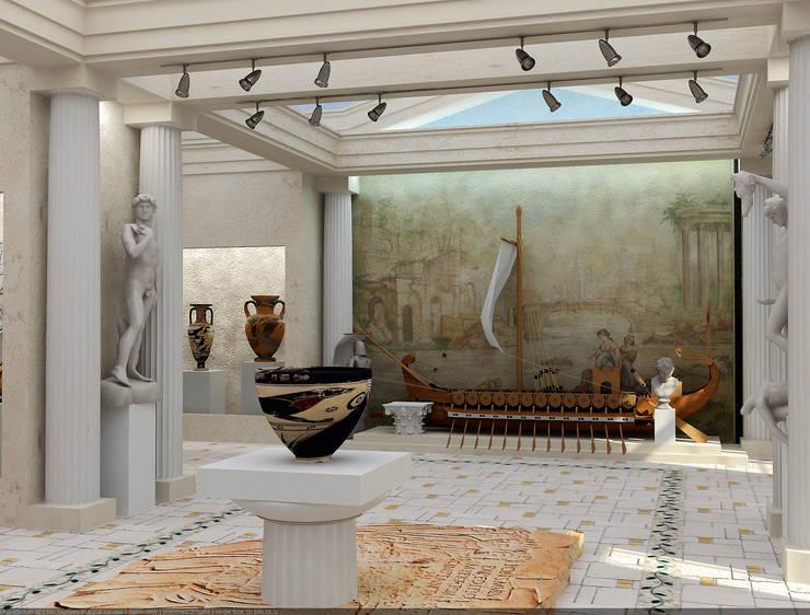 Музеи в . Автор – Architoria 3D, Классический