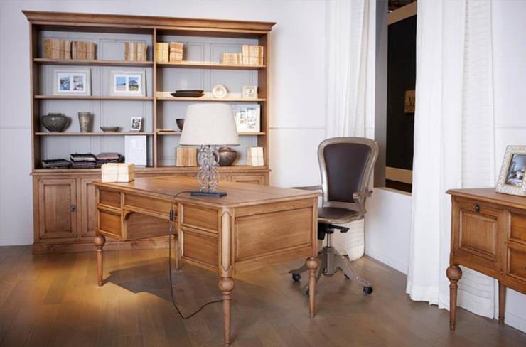 MI OFICINA GRANGE: Estudios y oficinas de estilo  por Grange México