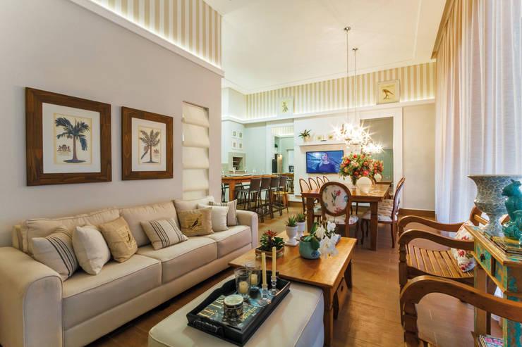 Projeto Residencial: Salas de jantar  por Dani Santos Arquitetura