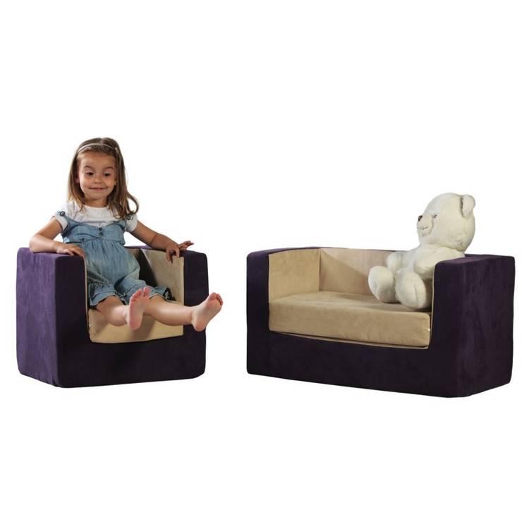 Fotelik Rubik: styl , w kategorii Pokój dziecięcy zaprojektowany przez Sponge Design