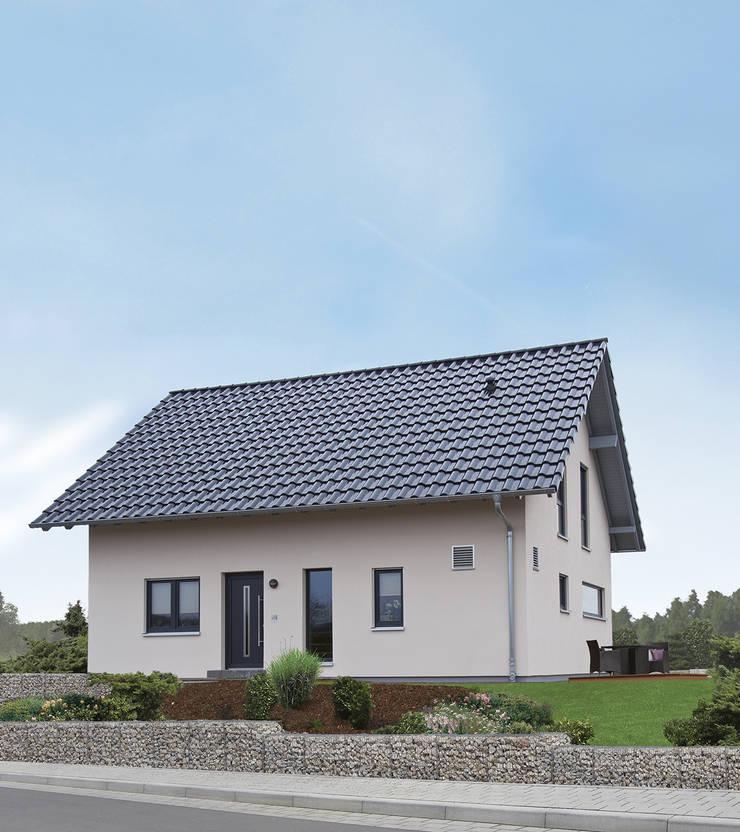 Casas prefabricadas de estilo  de FingerHaus GmbH - Bauunternehmen in Frankenberg (Eder), Moderno