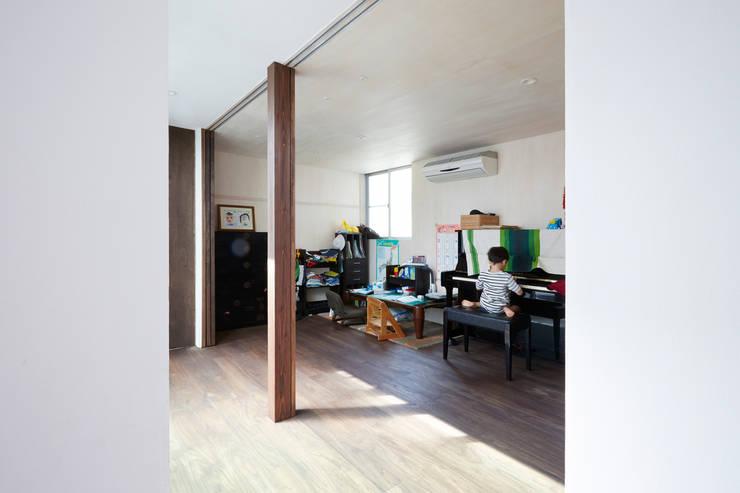 オープンにもクローズにもできる子供部屋-1: エトウゴウ建築設計室が手掛けた子供部屋です。