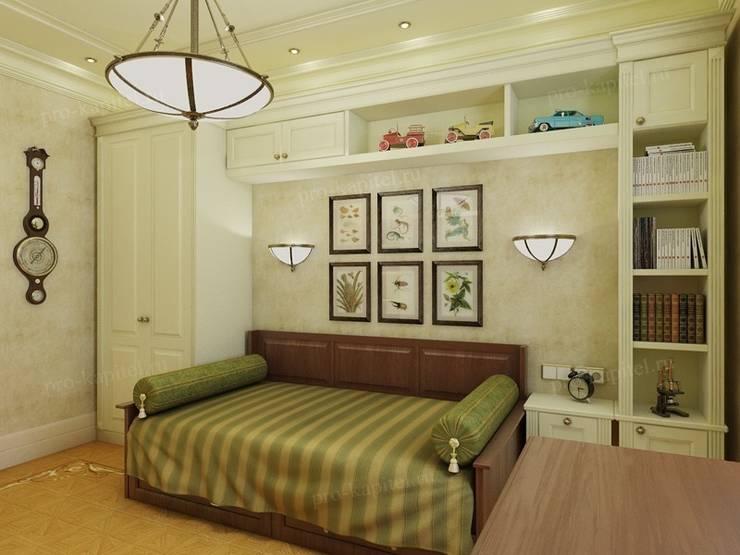 Дизайн интерьера детской комнаты для мальчика: Детские комнаты в . Автор – Архитектурное Бюро 'Капитель'