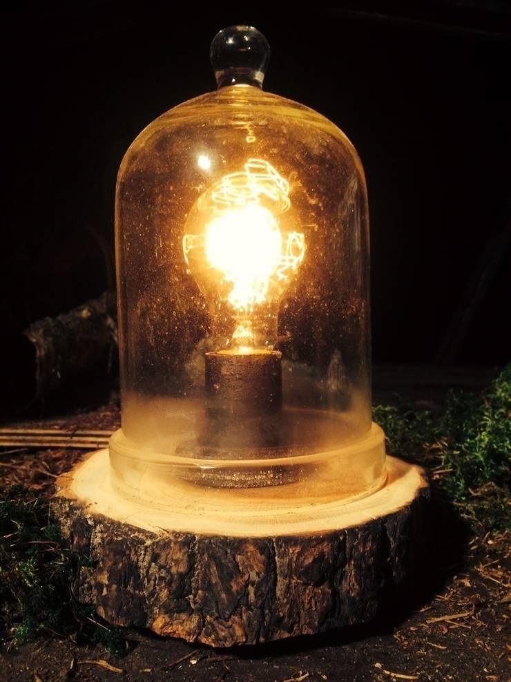 "Настольная лампа ""Botanical Mini"": Балкон, веранда и терраса в . Автор – Eco Shining Home"