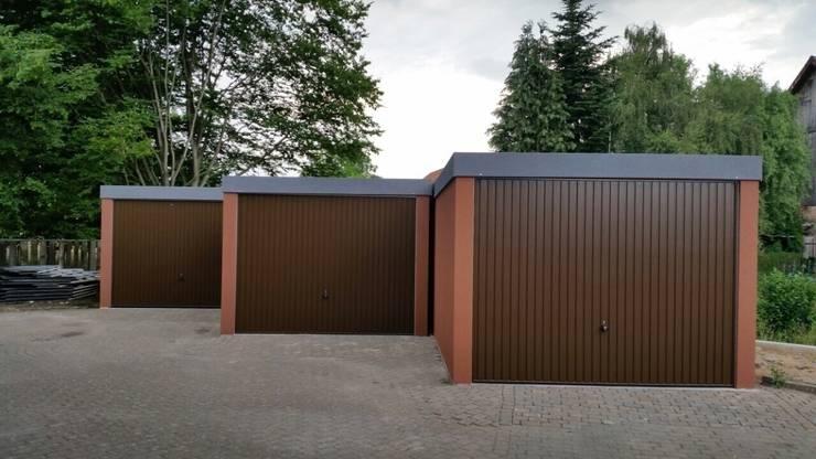 Gut gemocht Fertiggarage in der Holzständerbauweise bzw. Holzrahmenbauweise PU02