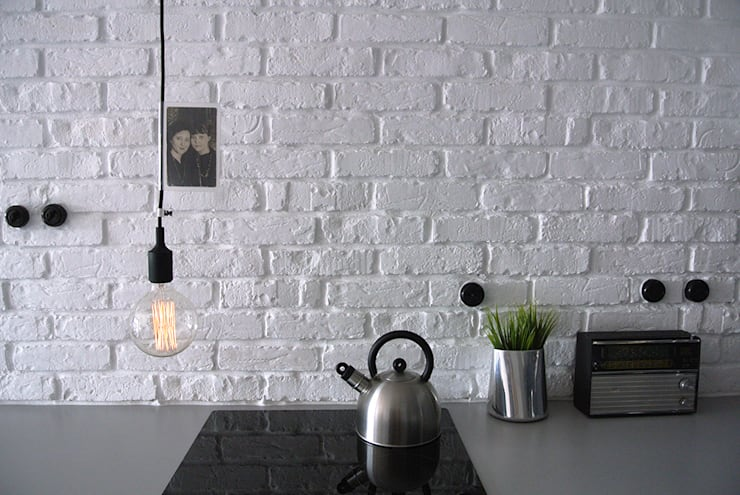 Lampa sufitowa imindesign z silikonową oprawką: styl , w kategorii Kuchnia zaprojektowany przez IMIN