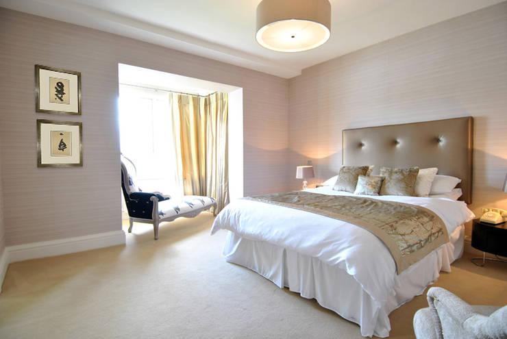 Master Bedroom:  Bedroom by CLAIRE HAMMOND INTERIORS