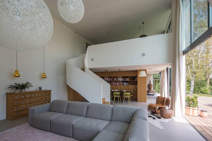 Splitlevel:   door ara | antonia reif architectuur