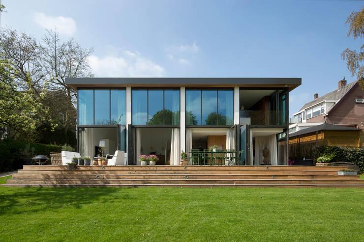 Tuingevel open:   door ara | antonia reif architectuur