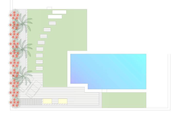 1. El diseño finalista:  de estilo  de Jardineria 7 islas