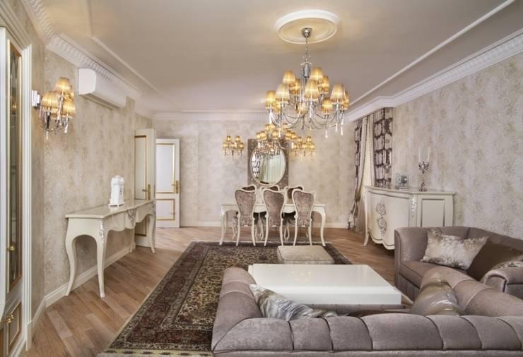ЖК <q>Золотые ключи</q>: Гостиная в . Автор – Tina Gurevich