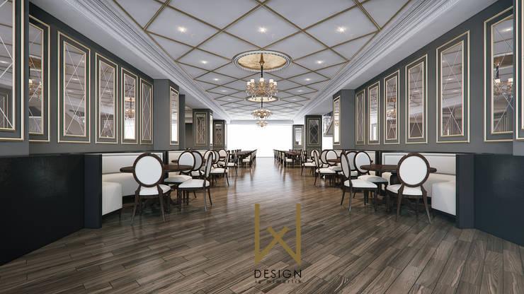 W DESIGN İÇ MİMARLIK – Saray Restaurant / Ankara:  tarz Yeme & İçme, Klasik