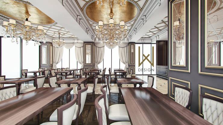 W DESIGN İÇ MİMARLIK – Saray Restaurant / Samsun:  tarz Yeme & İçme