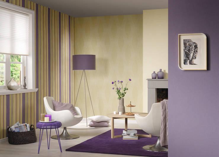 ห้องนั่งเล่น by TAPETENMAX® - Kröger GmbH