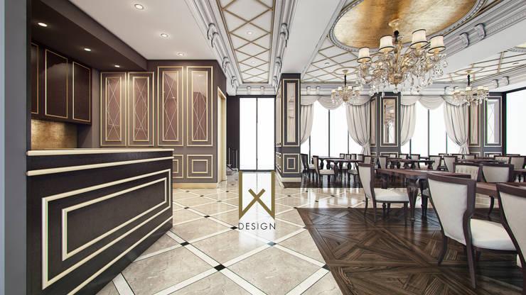 W DESIGN İÇ MİMARLIK – Saray Restaurant / Samsun:  tarz Yeme & İçme, Klasik
