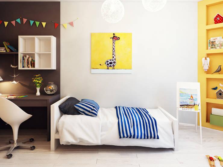 Projekty,  Pokój dziecięcy zaprojektowane przez Оксана Мухина