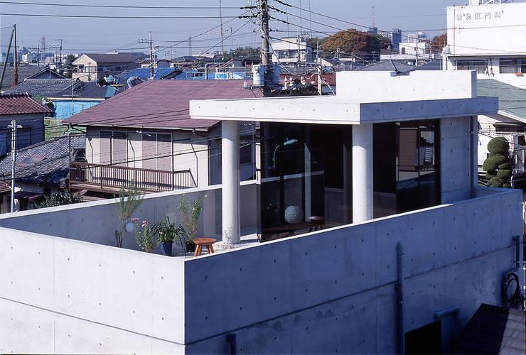 屋上: 松井建築研究所が手掛けた家です。