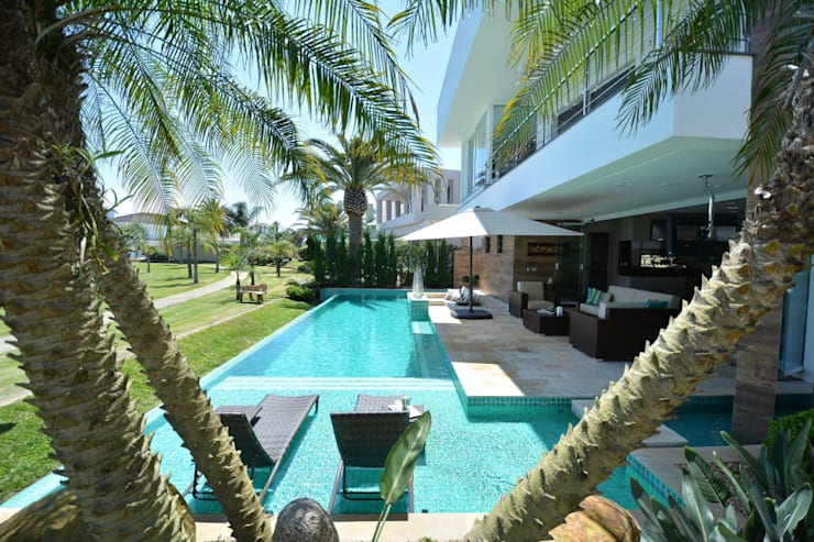 Pool by Eliane Fanti Arquitetura, Modern