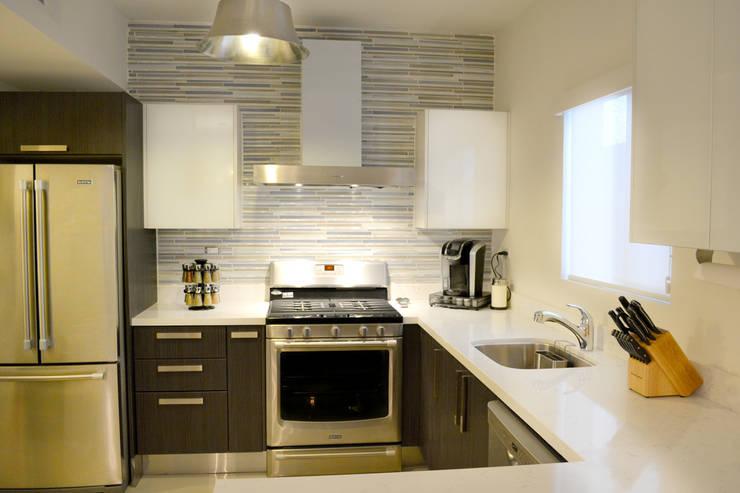 Cocina La Rioja 4 Cocinas de estilo moderno de Toren Cocinas Moderno
