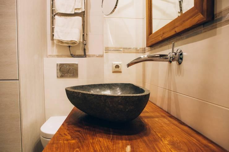 Льняное утро: Ванные комнаты в . Автор – radades