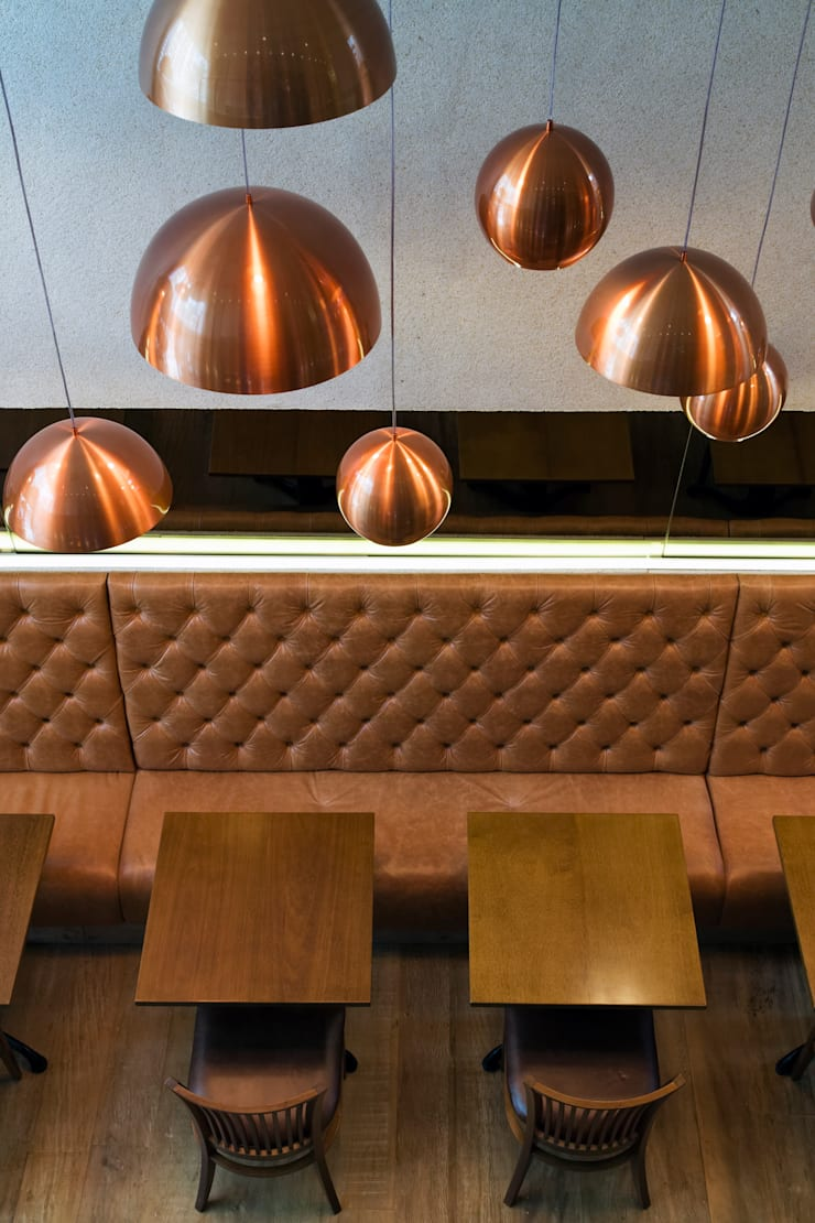 Modern bars & clubs by Denise Barretto Arquitetura Modern