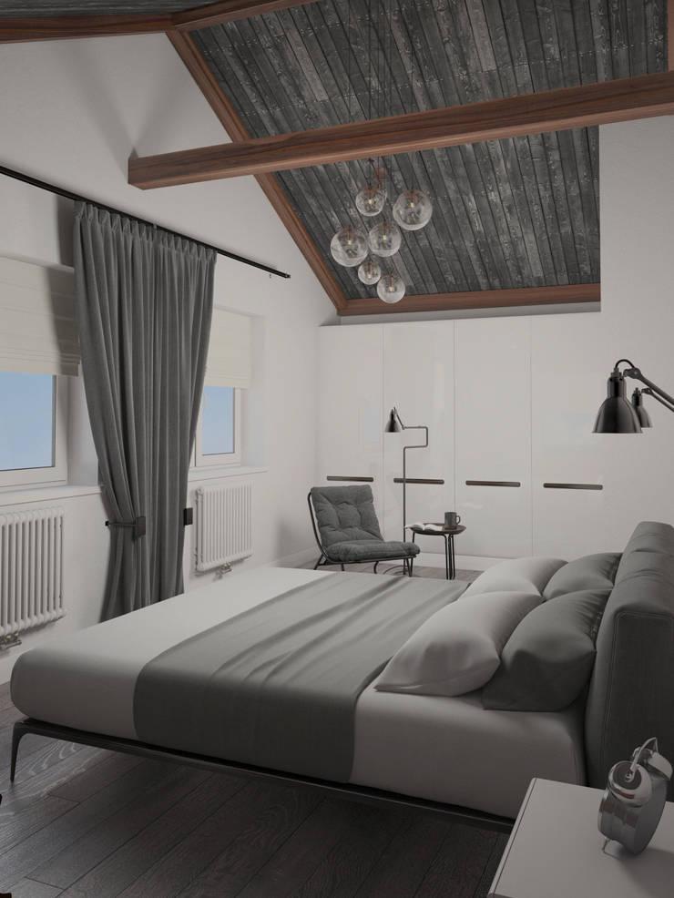 Белый дом: Спальни в . Автор – room4life