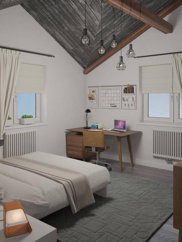 Белый дом: Детские комнаты в . Автор – room4life