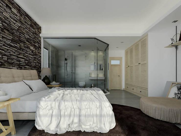 Ali İhsan Değirmenci Creative Workshop – Yatak Odası (Bed Room):  tarz Yatak Odası, Modern
