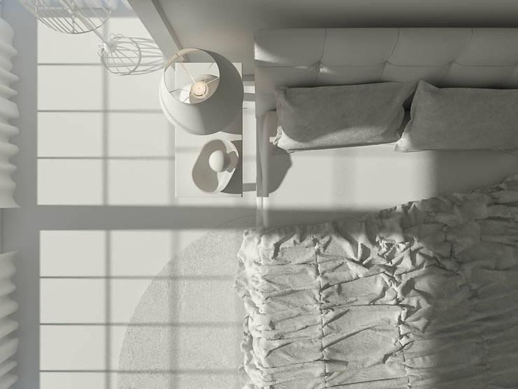 Ali İhsan Değirmenci Creative Workshop – Yatak Odası (Bed Room) - Model ham hali:  tarz Yatak Odası, Modern