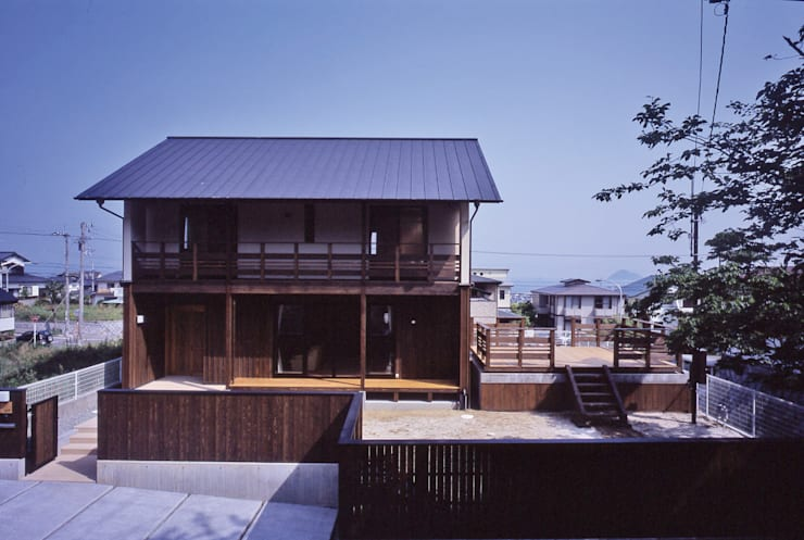 外観全景: shpが手掛けた家です。