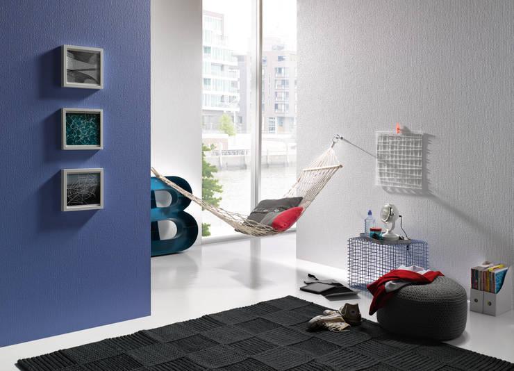 Modern living room by Erfurt & Sohn KG Modern
