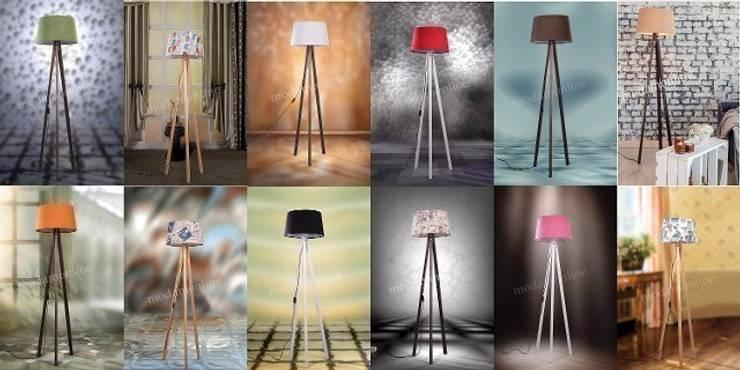 Housemax – Housemax 3 ayaklı yer lambası ürünleri:  tarz , Tropikal
