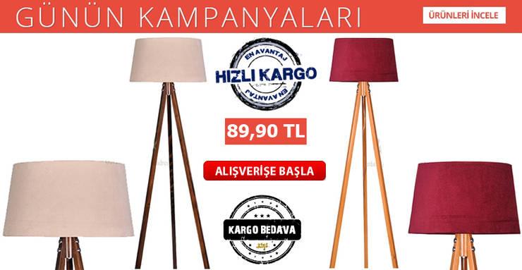 Housemax – Housemax 3 Ayaklı Lambader ve Yer lambası ürün modelleri:  tarz , Tropikal