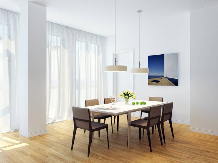 Апартаменты на берегу Черного моря: Столовые комнаты в . Автор – Оксана Мухина