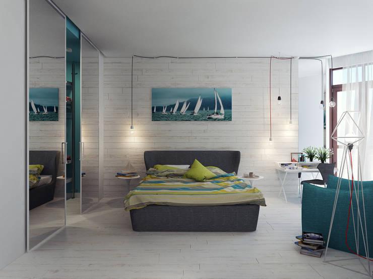 Спальня 2: Спальни в . Автор – Оксана Мухина