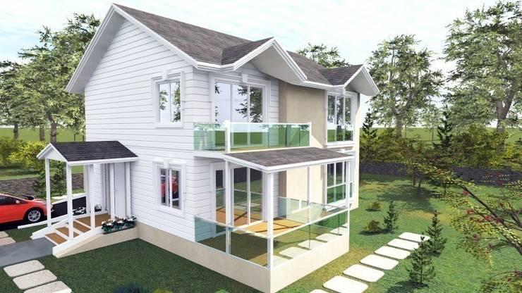 Modern houses by PORTAKAL MİMARLIK MÜHENDİSLİK İNŞAAT RÖLÖVE VE RESTORASYON Modern