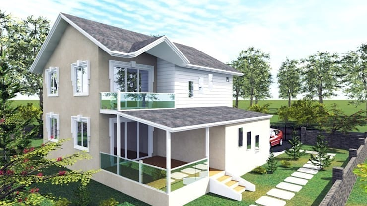 Modern home by PORTAKAL MİMARLIK MÜHENDİSLİK İNŞAAT RÖLÖVE VE RESTORASYON Modern