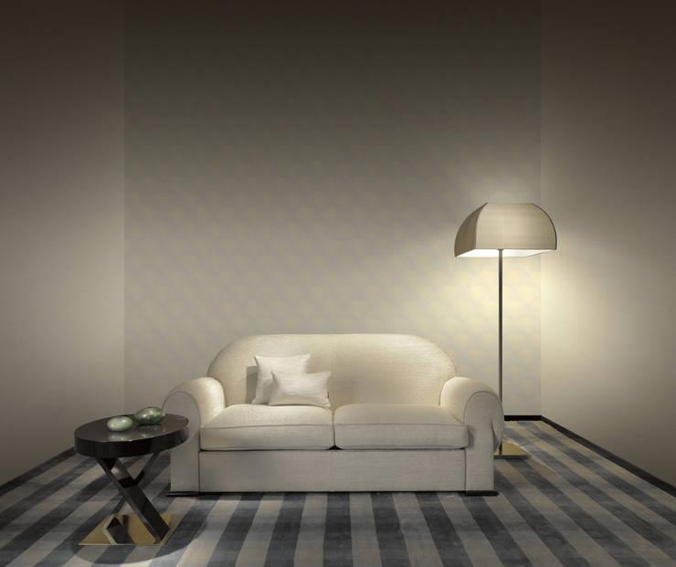 """HannaHome Dekorasyon  – Armani/Casa'nın ilk duvar kağıdı koleksiyonu """"Precious Fibers I"""": tropikal tarz tarz Duvar & Zemin"""