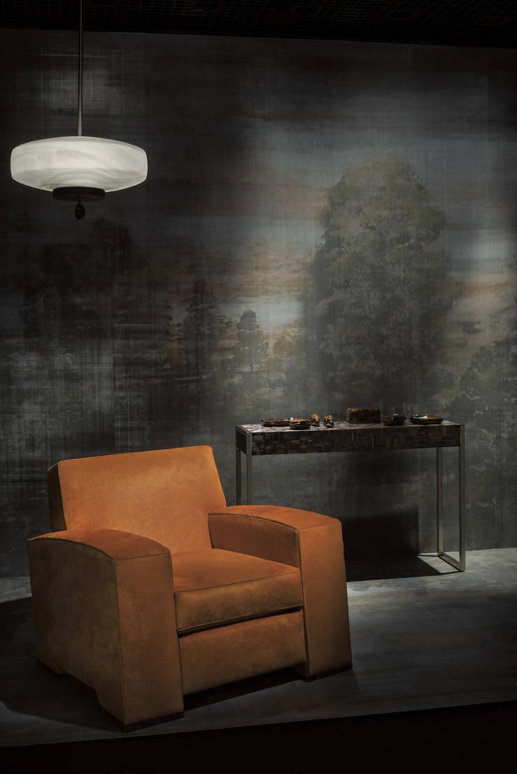 """HannaHome Dekorasyon  – Armani/Casa'nın ilk duvar kağıdı koleksiyonu """"Precious Fibers I"""": modern tarz Duvar & Zemin"""
