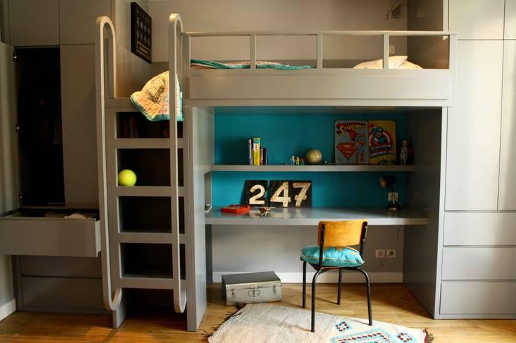 Dormitorios infantiles de estilo  por DESJEUX DELAYE