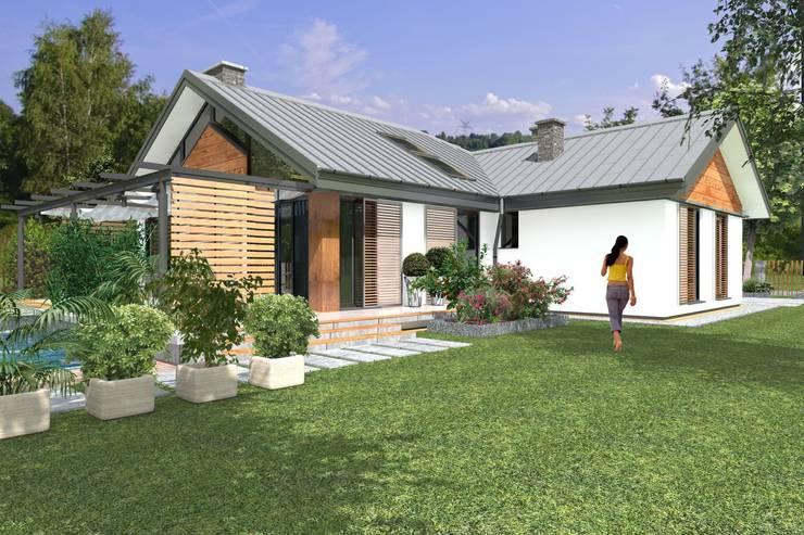 บ้านและที่อยู่อาศัย by ABC Pracownia Projektowa Bożena Nosiła - 1