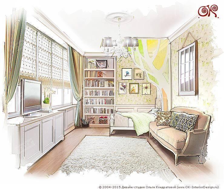 Дизайн детской в квартире на Войковской: Детские комнаты в . Автор – Дизайн студия Ольги Кондратовой,