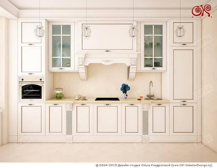Дизайн кухни в квартире на Войковской: Кухни в . Автор – Дизайн студия Ольги Кондратовой,