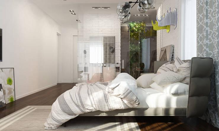 Спальня с умными технологиями: Спальни в . Автор – Tatiana Shishkina