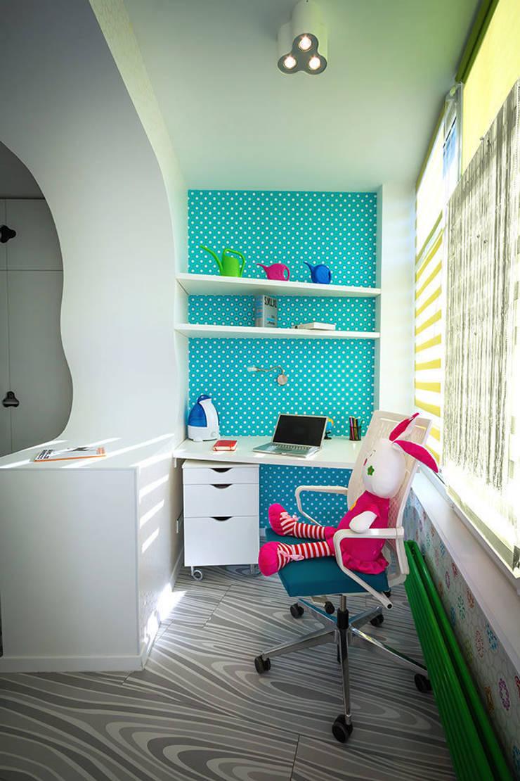Щупальца Осьминога: Детские комнаты в . Автор – DMYTRO ARANCHII ARCHITECTS,