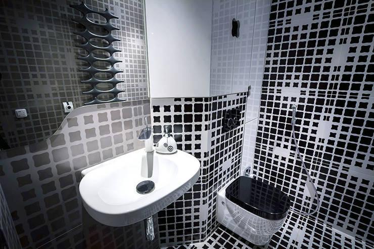 Щупальца Осьминога: Ванные комнаты в . Автор – DMYTRO ARANCHII ARCHITECTS,