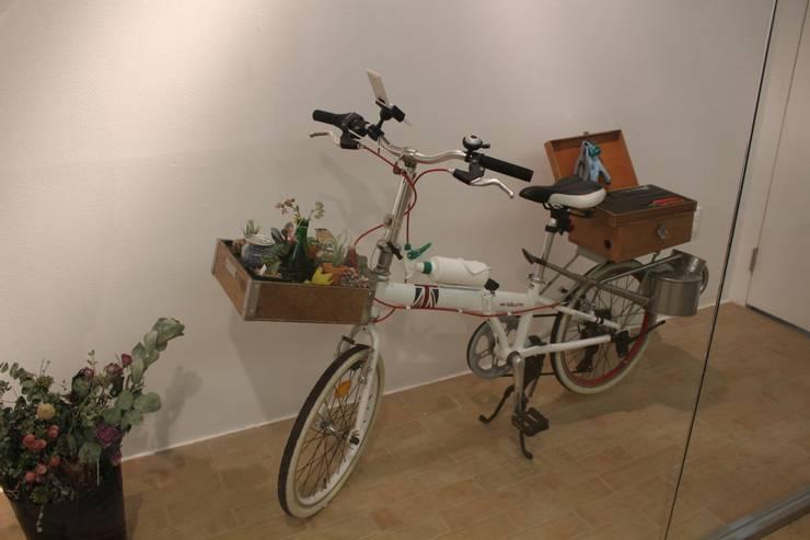 이사하는 정원 전시 - 출장용 자전거: 이사하는 정원의
