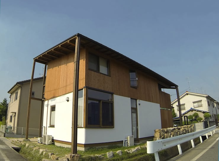 外観: Interstudio  Architects & Associates Japanが手掛けた家です。