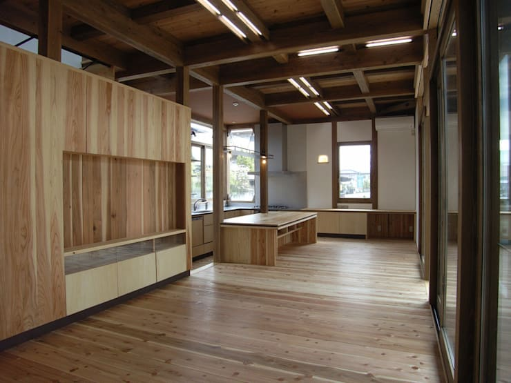 LDK: Interstudio  Architects & Associates Japanが手掛けたリビングです。