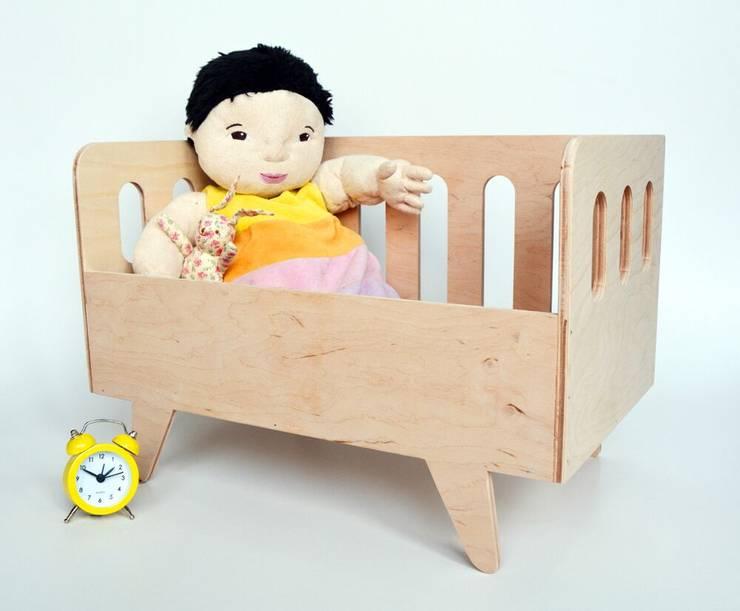 Projekty : styl , w kategorii Pokój dziecięcy zaprojektowany przez Maszyna Kreacji